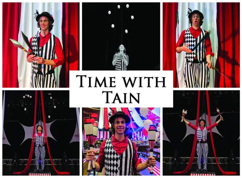 Time with Tain - Imagine Circus Show