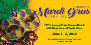 137th Annual State Convention & Mid-West Funeral Trade Show: Louisville, KY @ Kentucky Expo Center & Crown Plaza Hotel