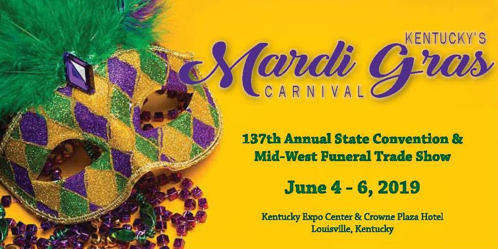 137th Annual State Convetion & Mid-West Funeral Trade Show, Imagine Circus, 2019