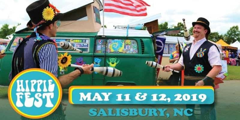 Hippie Fest, Salisbury, NC, May 11, 2019, Imagine Circus