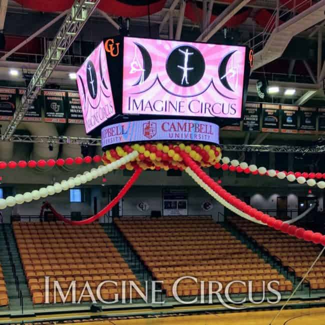 Circus Show, Campbell University, Imagine Circus