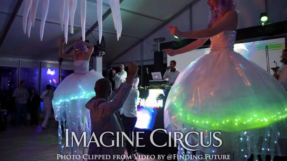 Jellyfish Stilt Walker, Stilt Walking Dancer, Imagine Circus, Performer, Photo by Finding Future