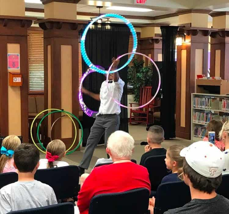 Library Hoop Jam, Imagine Circus