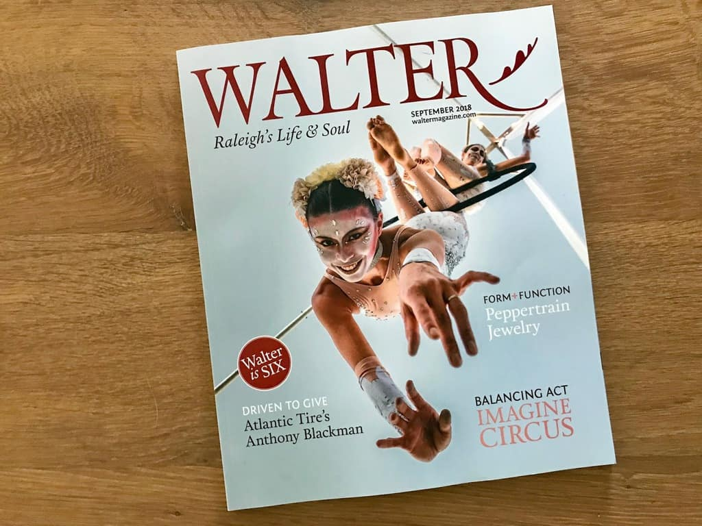 Imagine Circus on Cover of Walter Magazine, Photo by Raleigh Whats Up