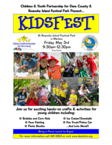 Kids Fest: Manteo, NC @ Roanoke Island Festival Park