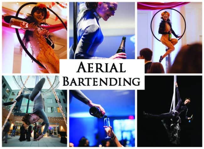 Aerial Bartending | Unique Acts | Imagine Circus