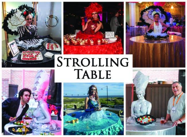 Strolling Table | Unique Acts | Imagine Circus