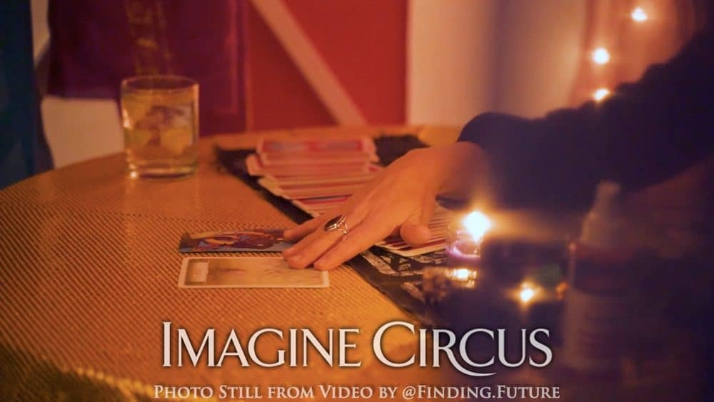 Fortune Teller, Imagine Circus, Oddball Gala, Photo Still from Video by Finding Future