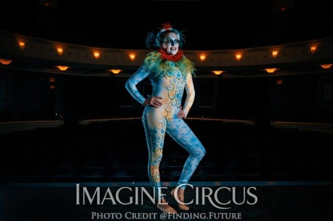 Acrobat, Katie, Imagine Circus, Performer, Spartanburg, Oddball, Photo by Finding Future