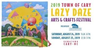 Lazy Daze Arts and Crafts Festival: Cary, NC @ Cary Townhall Campus