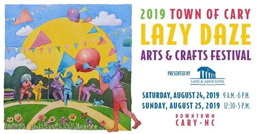 Town of Cary, Lazy Daze Arts and Crafts Festival, Imagine Circus, 2019