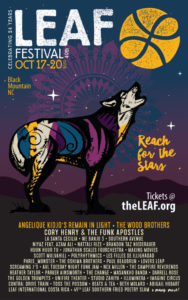 "Lake Eden Arts Festival (LEAF) ""Reach for the Stars"": Black Mountain, NC @ Lake Eden"