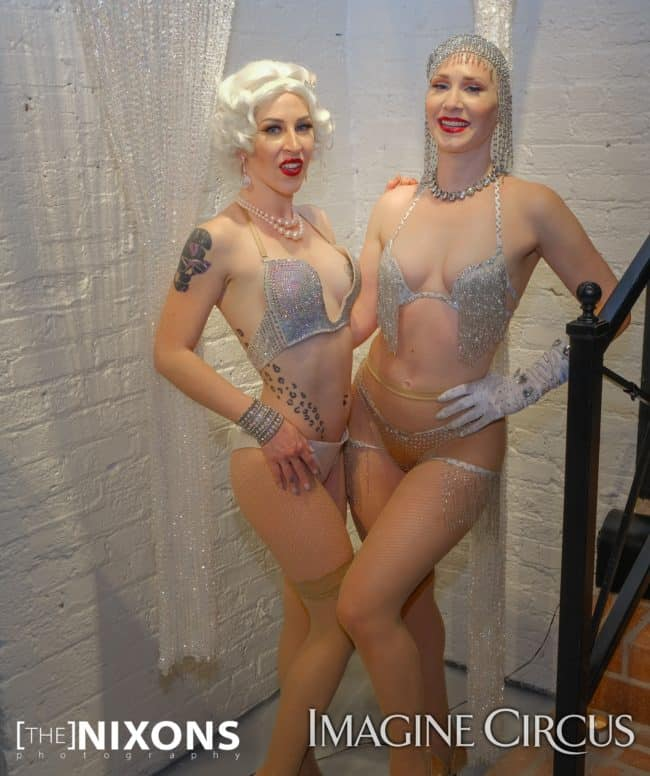 Burlesque Dancer, Whitney and Meka La Creme, Great Gatsby Entertainer, Roaring 20_s Party, Classy Art, Imagine Circus Performer, The Nixons Photography