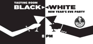 Black & White New Year's Eve Party: Winston Salem, NC @ Foothills Brewing Tasting Room